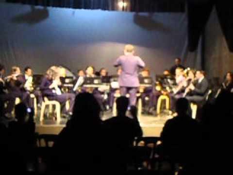 Banda Jovem do Conservatorio de Tatui de São Jose do Rio Pardo - The Tempest - Rober W. Smith