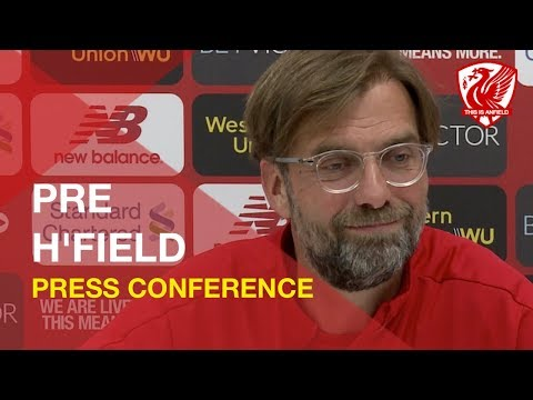 Liverpool Vs. Huddersfield | Jurgen Klopp Press Conference