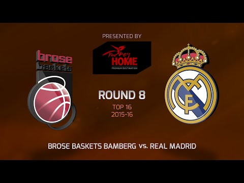 Highlights: Top 16, Round 8, Brose Baskets Bamberg 86-90 Real Madrid