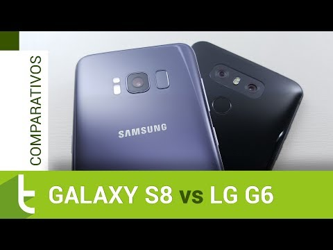 Comparativo: Galaxy S8 vs LG G6  Review do TudoCelular