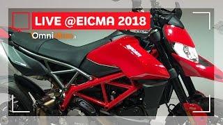 Ducati HyperMotard 950 e 950 SP   EICMA 2018