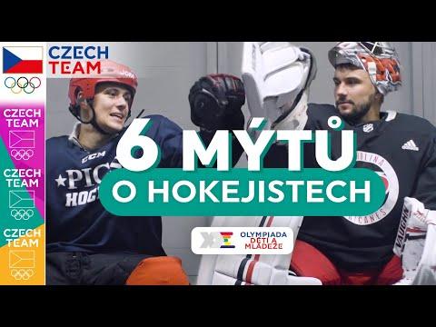6 MÝTŮ o hokejistech s Petrem Mrázkem