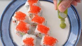 California Roll Recipe - How to Make California Rolls
