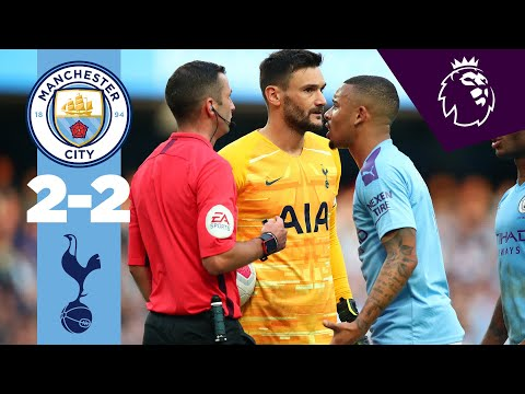 Video: HIGHLIGHTS | Man City 2-2 Tottenham | Sterling, Aguero, Lamela, Moura