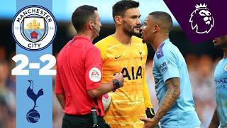 HIGHLIGHTS | Man City 2-2 Tottenham | Sterling, Aguero, Lamela, Moura