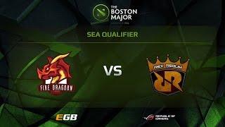 FDN vs RRQ, Boston Major SEA Qualifiers