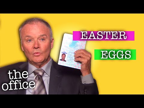 9 Hidden EASTER EGGS  - The Office US