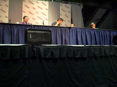 Lowenthal - Taken from Sac Anime summer 2014 Saturday Naruto Q&A. Also includes a video shout-out.