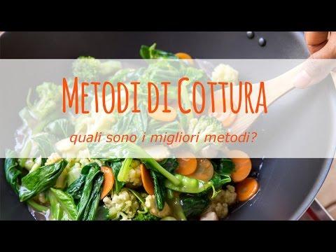quali sono i migliori metodi di cottura per il cibo che consumiamo?
