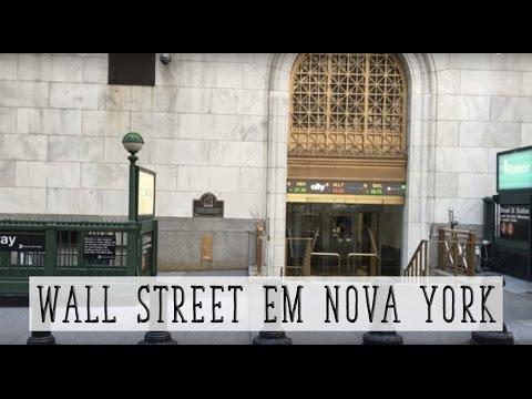 PASSEIO POR WALL STREET E OUTROS LUGARES EM NOVA YORK I NY