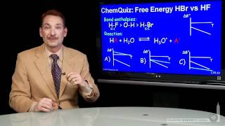 Free Energy Of HBr Vs. HF  (Quiz 2)