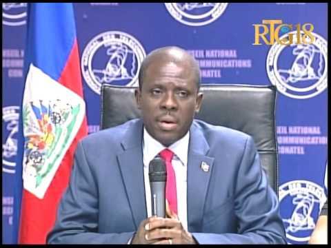 Conseil National des Telecommunications (Conatel) / Conférence de presse