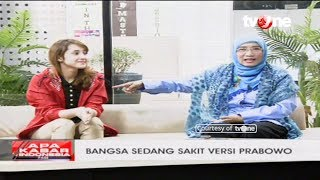 "Video Tsamara vs Andi Nurpati: ""The Nation is Sick in Prabowo's Version"" MP3, 3GP, MP4, WEBM, AVI, FLV Oktober 2018"