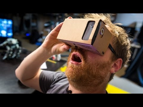 virtual - Google surprised everyone at its I/O conference by giving out Cardboard, a cardboard-craft kit to make virtual reality goggles when paired with a Nexus 5 sma...
