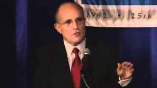 Click to play: Rudy Giuliani Address at the 2007 National Lawyers Convention - Event Audio/Video