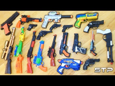 Video Toy Guns Collection! My Massive Toy Weapon Arsenal - What's in the box? download in MP3, 3GP, MP4, WEBM, AVI, FLV January 2017