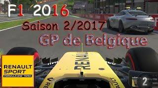"""Circuit: Circuit Spa-FrancorchampsConstructeur: Renault Sport F1 TeamCoequipier: Jolyon PalmerSaison 2Difficulté: ExpertConsole: PlayStation 4 Pro• F1 2016 sur Steam avec réduction: http://mmo.ga/UF4y• F1 2016 sur Amazon (PlayStation, XBox, PC): http://amzn.to/2cWP17RLe mode carrière de F1 2016 permet de créer son pilote et désigner dans quelle écurie il fera ses débuts. Évidemment plus l'équipe est renommée et plus les objectifs seront exigeants. Le joueur doit également choisir son coéquipier, son casque et son numéro de course. Au niveau des courses il faudra donc effectuer le tour de formation pour faire chauffer les pneus, le départ en manuel où il faudra avoir le bon timing pour ne pas être pénalisé et l'entrée dans les stands. Enfin le joueur doit également prendre en main sa carrière en négociant par exemple son transfert vers une autre équipe plus prestigieuse.▬▬▬▬▬▬▬▬▬▬▬▬▬▬▬JEUX PAS CHÈR SUR MMOGA: https://mmo.ga/FiG9POUR NE PLUS RIEN LOUPER:••► Page Facebook: https://www.facebook.com/LiveGamingFR••► Twitch.tv: http://fr.twitch.tv/livegaming_fr••► Mon Twitter: https://twitter.com/LiveGamingFR••► Chaîne YouTube: http://www.youtube.com/user/FCSGam3rzqwe582••►Soutenir le Stream et passer un Message: https://www.tipeeestream.com/livegaming%20fr/donation▬▬▬▬▬▬▬▬▬▬▬▬▬▬▬▬▬▬▬▬▬▬▬▬▬▬▬▬▬▬▬▬▬▬Et n'oublie pas de mettre un """"j'aime"""", de laisser un Commentaire, de partager la Vidéo et de t'abonner, si la Vidéo ta plu. Merci et bon visionage!Cordialement LiveGaming FR"""