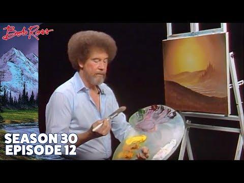 Bob Ross - Evening's Glow (Season 30 Episode 12)