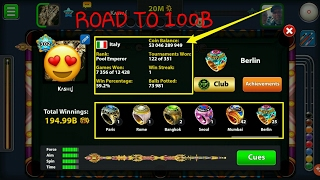 Miniclip 8 Ball Pool - 1 Billion Coins Special - Giveaway Coming Soon - No Hacks/Tricls 8 Ball Pool - Road To 100 Billion - Free Coins For Everyone - No Hack...