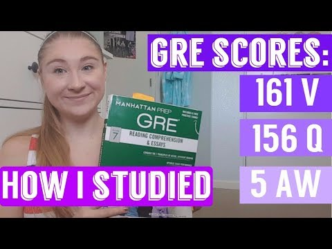 GRE STUDY TIPS 2017! HOW TO SCORE IN THE TOP 10 PERCENTILE