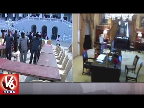 Tight Security At Falaknuma Palace Ahead Of Ivanka Trump Visit | GES 2017