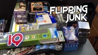Flipping Junk - 19 - Retail Arbitrage, Goodwill, and Thrift Store Adventure.