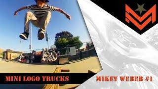 Mini Logo Truck Assembly Skateboard Trucks