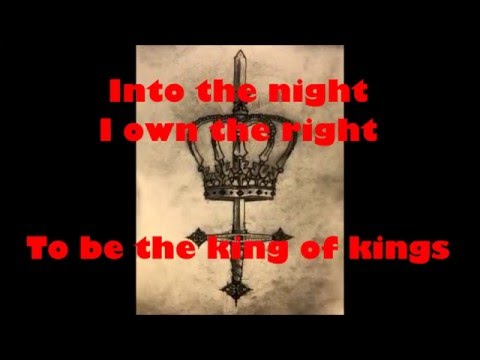 King Of Kings Lyrics (by Manowar)