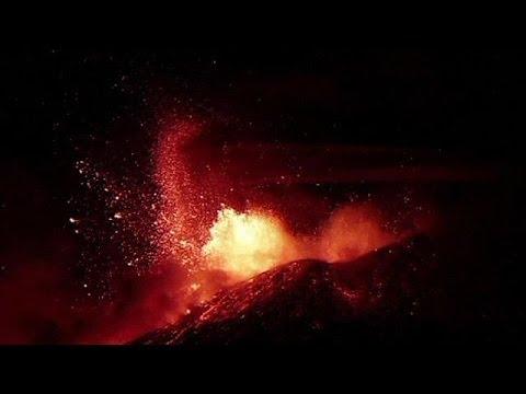 Etna yine korkuttu