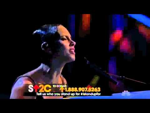 Alicia Keys - Not Even The King (@ Stand Up 2 Cancer) (New Song)
