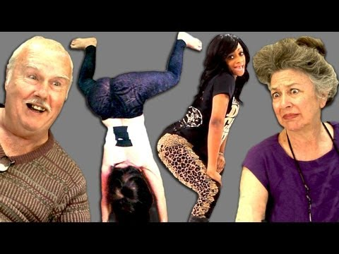 reactions - Twerking Bonus Reactions: http://goo.gl/7yHXZ Subscribe! New vids every Sun/Tues/Thu: http://bit.ly/TheFineBros FREE NETFLIX FOR A MONTH! http://netflix.com/...
