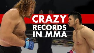 Video 10 Crazy MMA Records You (Almost Certainly) Didn't Know MP3, 3GP, MP4, WEBM, AVI, FLV Desember 2018