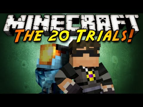 Minecraft: The 20 Trials Part 4!