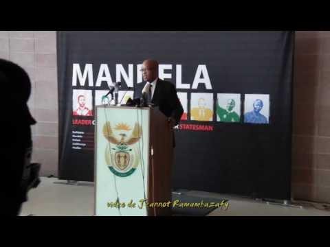 Mandela. Jacob Zuma, Oliver Tambo BLDG Pretoria, 11.12.2013