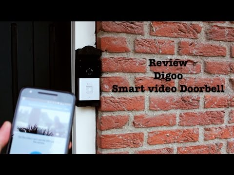 Video review of the Digoo doorbell