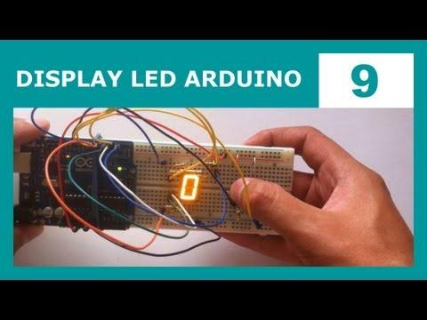 Display 7 segmentos - En el tutorial de hoy aprenderemos a usar un display LED de 7 segmentos con Arduino. Veremos cómo se conecta y cómo controlarlo usando nuestro código. Nuestr...
