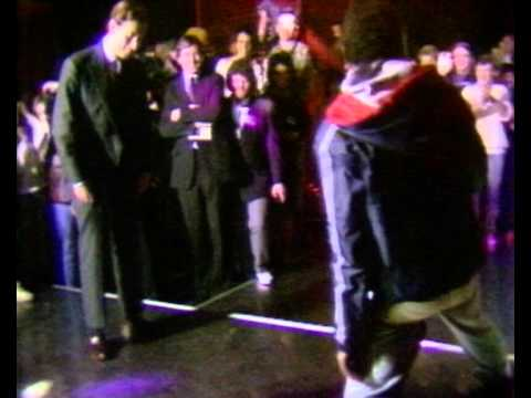 Prince Charles breakdancing with black youths