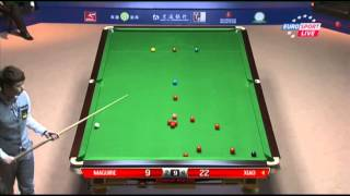 Stephen Maguire - Xiao Guodong (Frame 7) Snooker Shanghai Masters 2013 - Round 1
