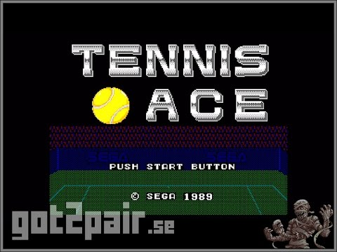 Tennis Ace - Master System