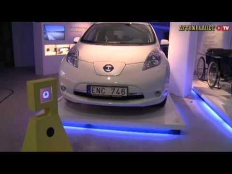 BIB The Robot (Bibbi) at Aftonbladet TV oct 2012