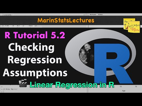 Checking Linear Regression Assumptions In R (R Tutorial 5.2)