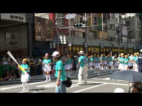 2012 台東区立田原小学校 バンド・フラッグ隊