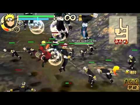naruto shippuden ultimate ninja impact psp personnage