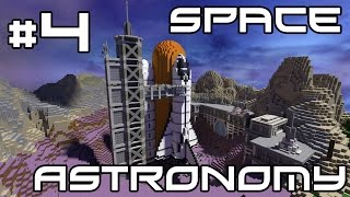 Minecraft Space Astronomy - Completing Quests! #4
