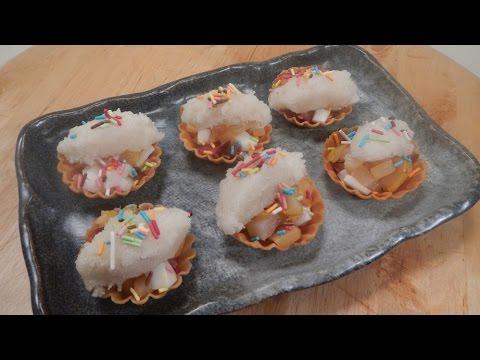 Creamy Coconut Fruit Tarts 29 October 2014 03 PM