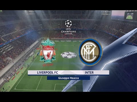 Liverpool Vs Inter Milan - UCL Champion League | Gameplay PC