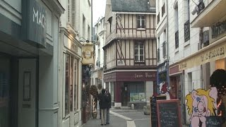 Chinon France  city photo : Chinon, Loire, France travel video