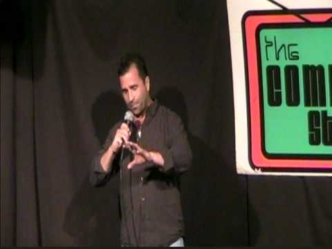 Bobby Bou debut at the Comedy Studio on June 2, 2010.