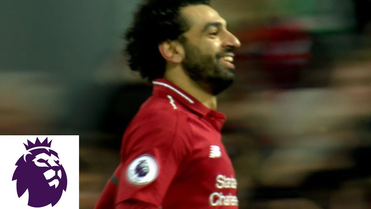 Mohamed Salah's tap in gives Liverpool a 3-2 lead v. Crystal Palace | Premier League | NBC Sports