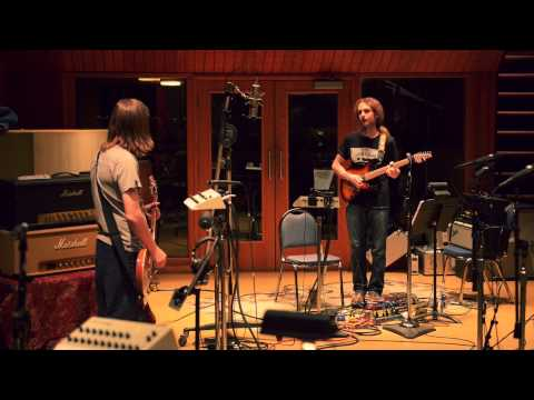 recording - Steven Wilson and band (Marco Minnemann, Nick Beggs, Guthrie Govan, Adam Holzman, Theo Travis) recording 